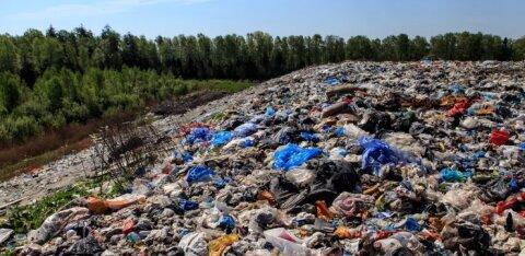 В Таллиннском порту задержали финский грузовик за незаконный ввоз неотсортированных отходов