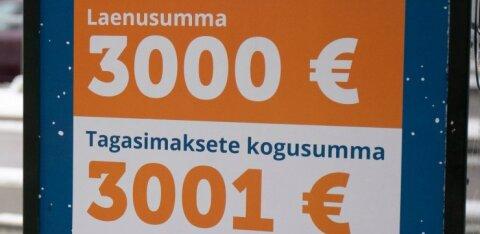 Kriitikud: lõdvemad laenureklaami piirangud suurendavad makseraskustes inimeste arvu
