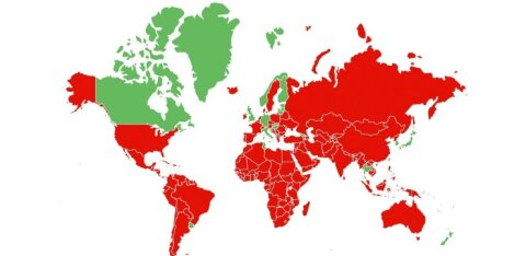 KAART | Vaata, mis riikidest saabumisel peab oma liikumist piirama: nimekirja lisandusid ka Kreeka ja Taani