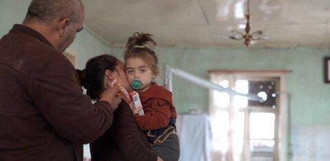 Война в Карабахе: история девочки, выжившей после ракетного удара по Гяндже