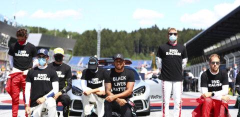 Meedia: üha enam F1-piloote kavatsevad põlvitamisest loobuda, asjas kahtleb ka Lewis Hamilton