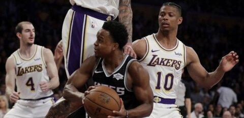 VIDEO   Ekskalevlane tegi Los Angeles Lakersi eest debüüdi
