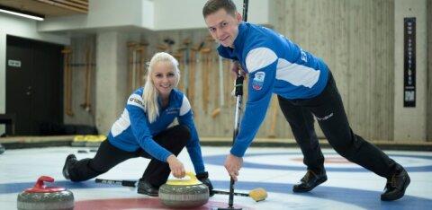 Eesti kurlingupaar sai MMil olümpiapronksilt esimese kaotuse