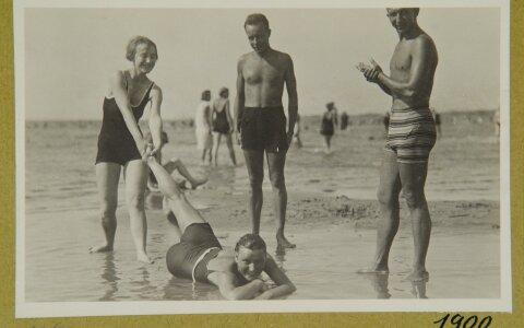 VANAD SUVEFOTOD: Juba 1920ndatel käis Pirita rannas vilgas seltsielu
