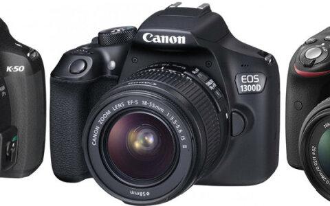 bdb0ff67c3a Pentax K-50 vs Canon EOS 1300D vs Nikon D3300: millist soodsat  peegelkaamerat valida?