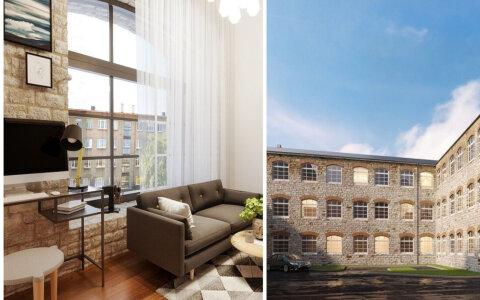 Смотрите, какие квартиры в стиле лофт построят в промышленном здании в центре Таллинна