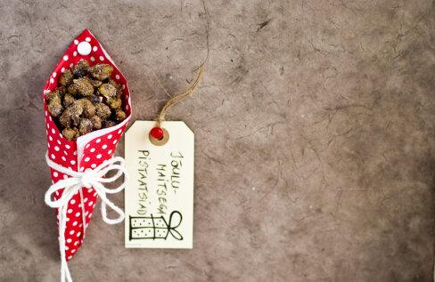 SÖÖDAVA JÕULUKINGI IDEE | Jõulumaitselised pistaatsiapähklid