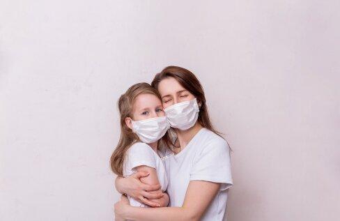 Ta kardab kõige rohkem, et emme jääb haigeks ja sureb