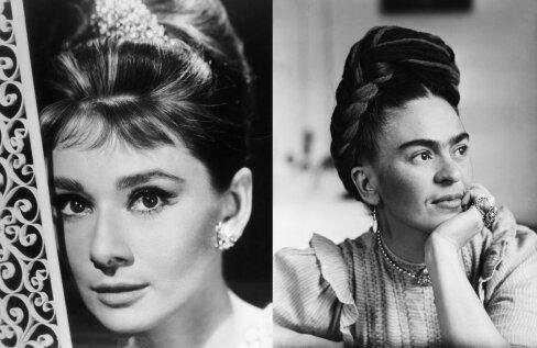 FOTOD   Audrey Hepburnist Frida Kahloni: need on kõigi aegade kõige ikoonilisemad kulmud