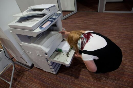 Printer. Pilt on illustreeriv.