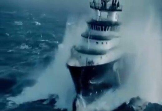 Võimas VIDEO: Vaata just nii näeb välja torm merel