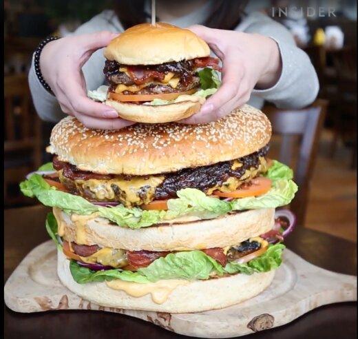 VIDEO   Katse ära süüa Euroopa suurim burger