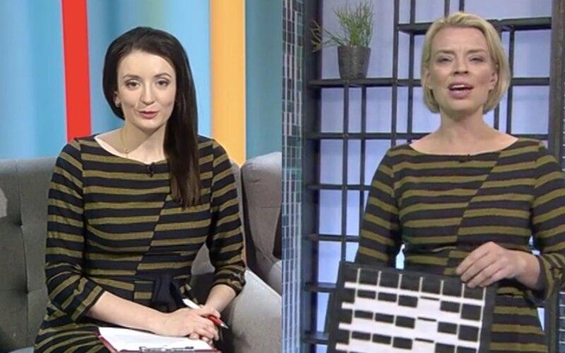 c701fa5fb50 FOTOD | Kumb kandis paremini? Grete Lõbu ja Ingrid Teesalu sattusid  teleekraanile ühesugustes kleitides