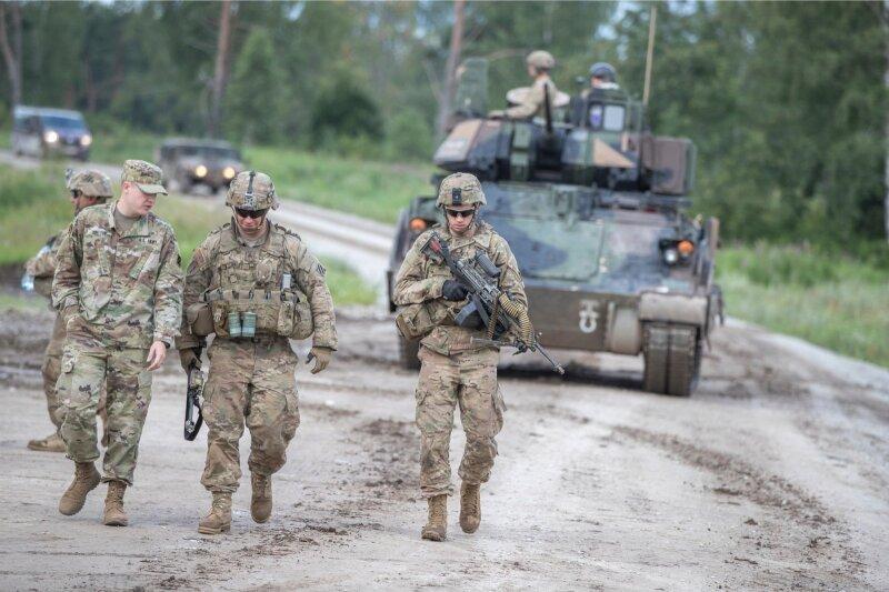 Страны Балтии теряют свою независимость из-за войск НАТО