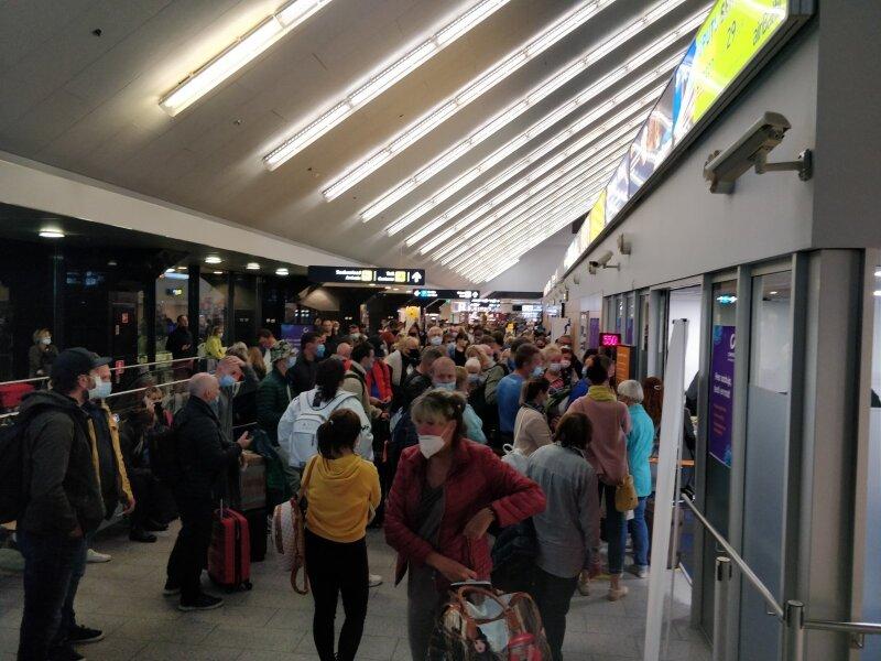 Тест на Covid-19 в аэропорту Таллина
