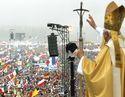 Paavst Benedictus XVI Saksamaal Maailma Noorte päevadel