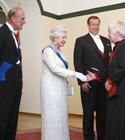 Elizabeth II , prints Philip, Ilves ja Anu Raud