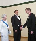 Elizabeth II, prints Philip, Ilves ja Andrus Ansip