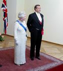 Elizabeth II ja Toomas Hendrik Ilves