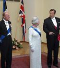 Elizabeth II, prints Philip, Toomas Hendrik Ilves, Evelin Ilves