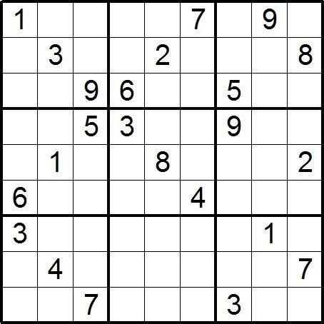 Tigu sudoku