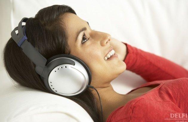 слушать музыку звуков нет это значит, что