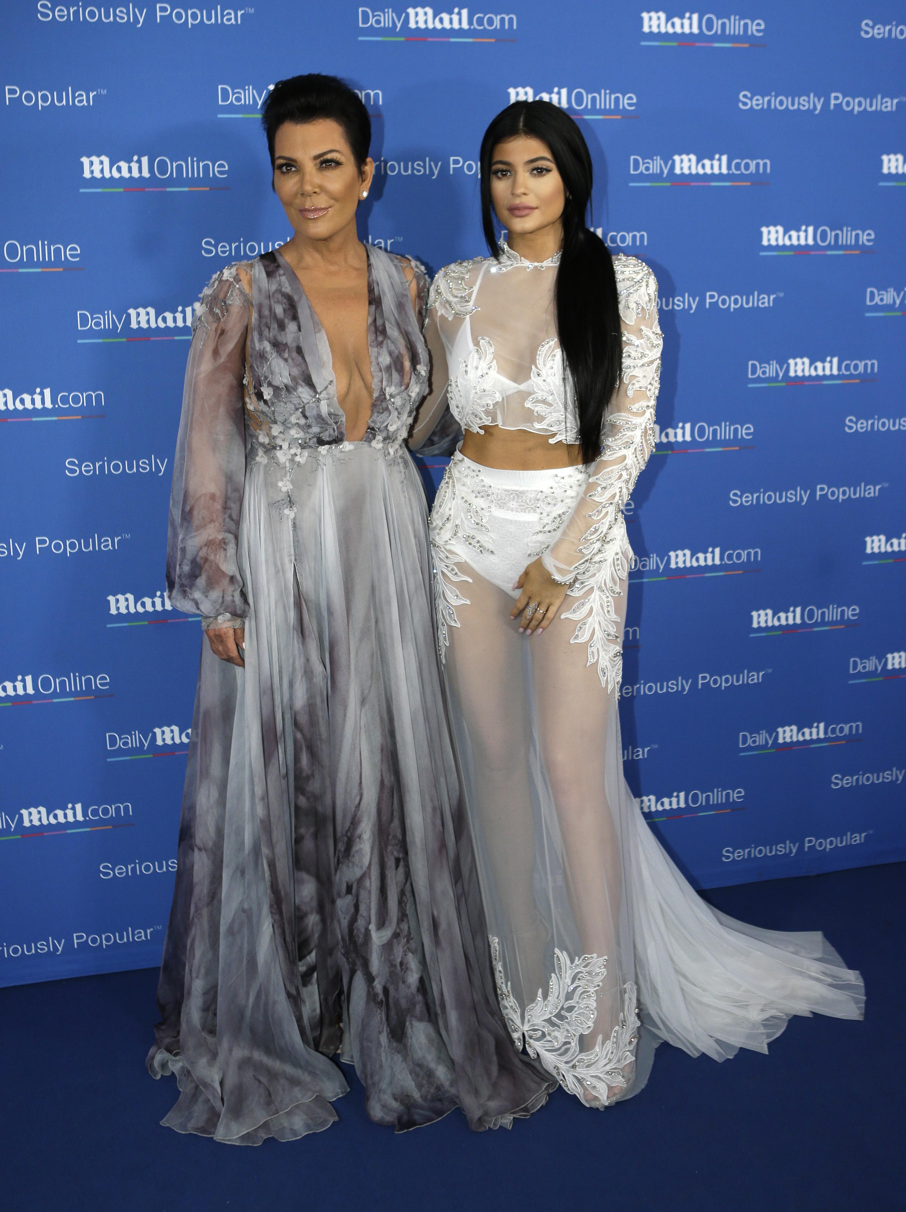Kris ja Kylie Jenner