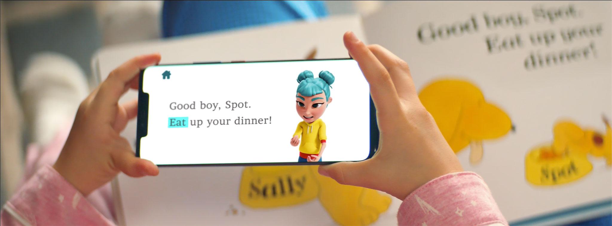 StorySign mobiilirakendus