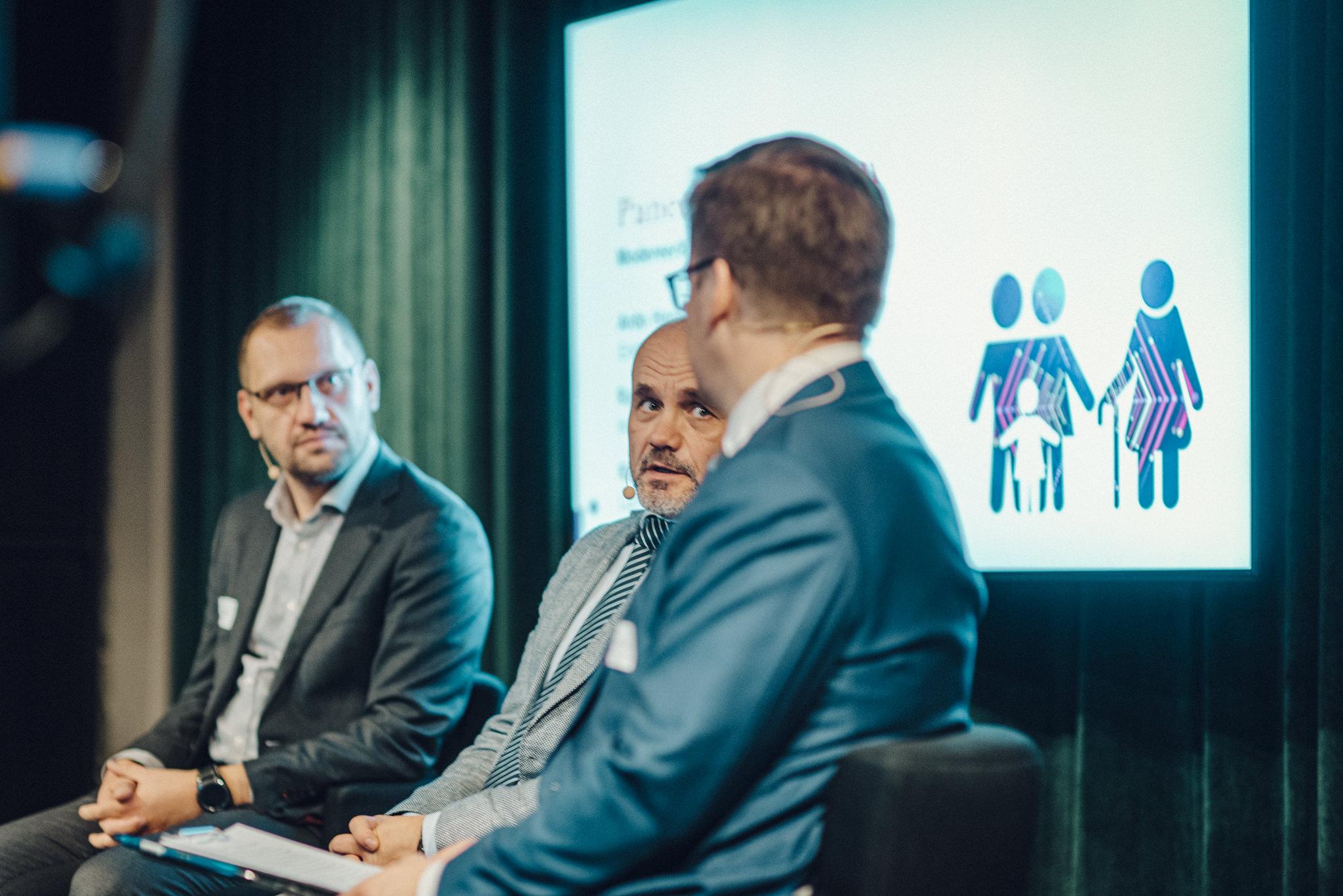 Vasakult: Rasmus Pikkani, Raivo Hein ja Erik Moora