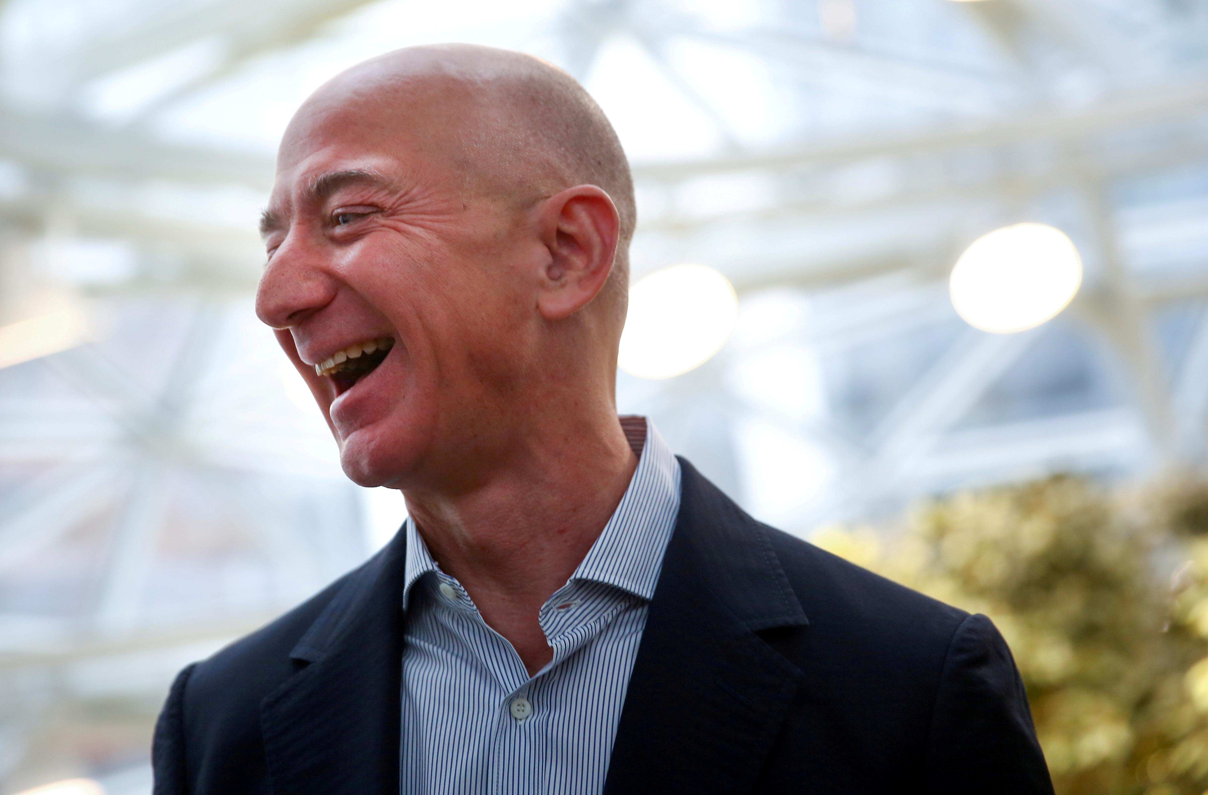 Jeff Bezos. Foto: Scanpix/ Reuters