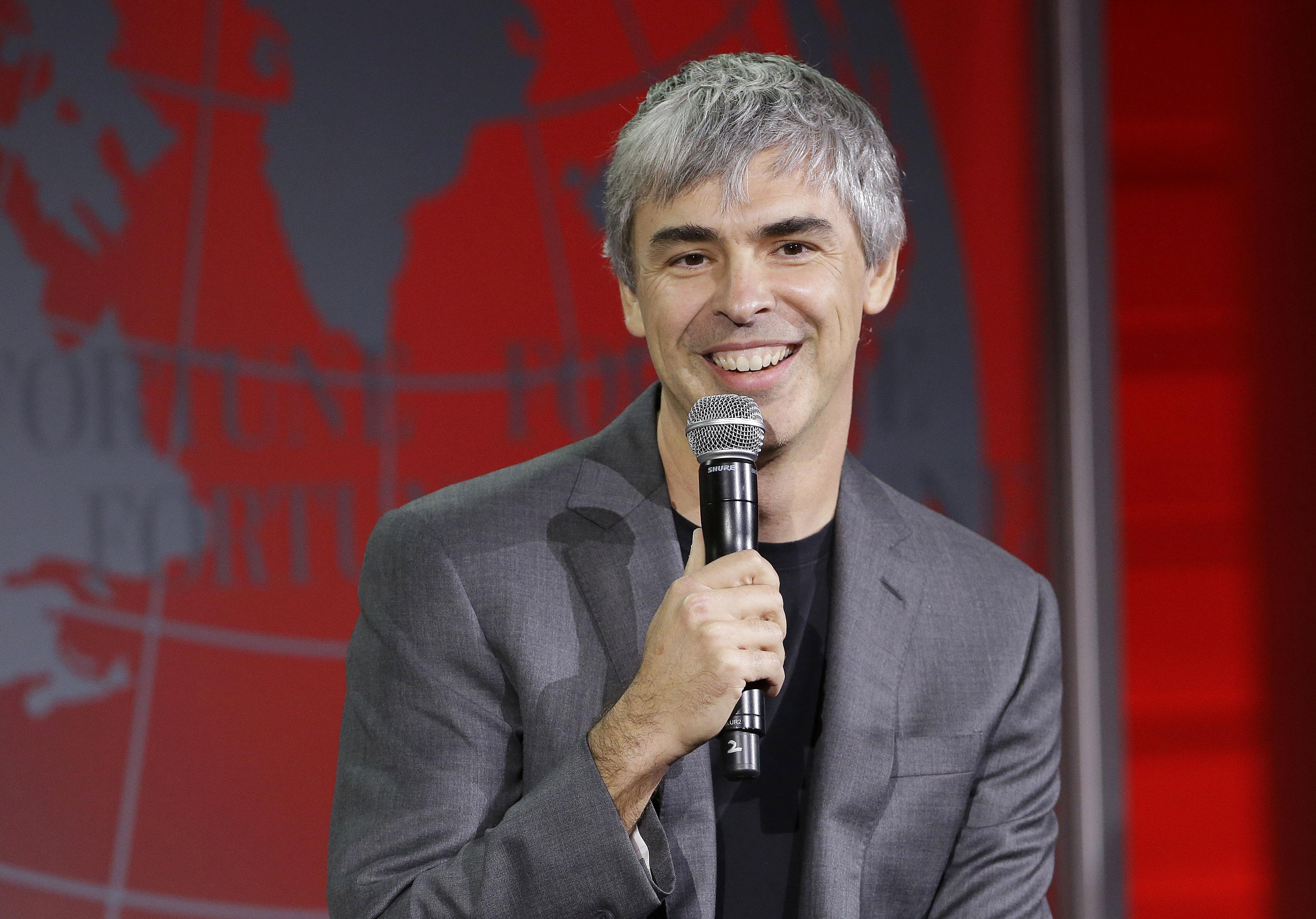 Larry Page Foto: Scanpix/ AP