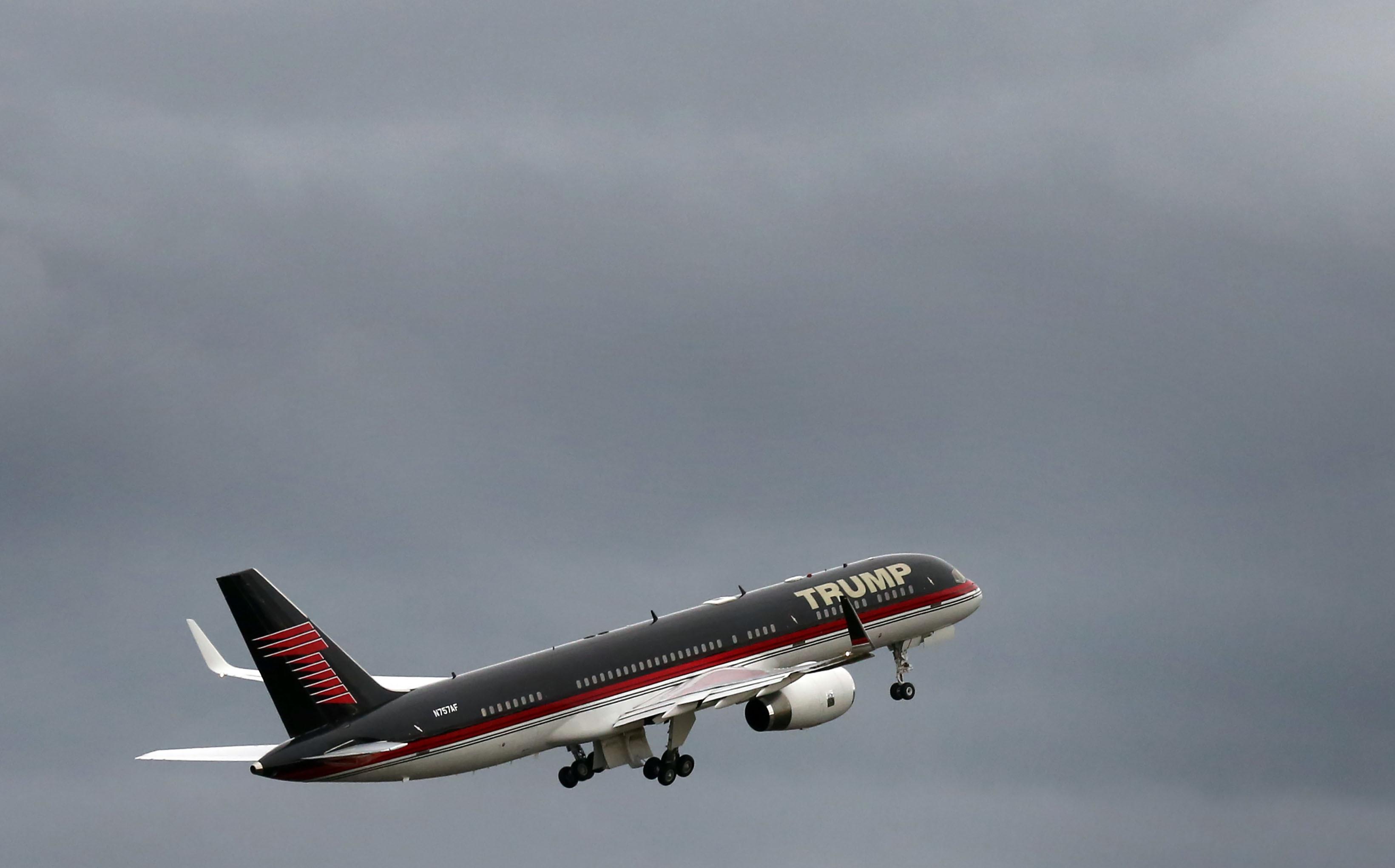 Trumpile kuuluv Boeing 757