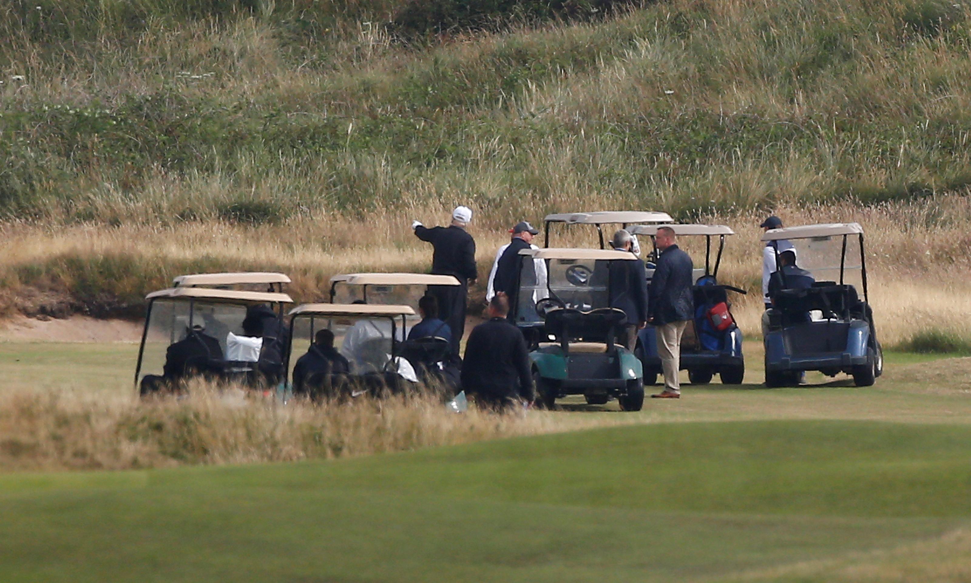 Trumpi Turnberry kuurortis Šotimaal asuv golfikeskus