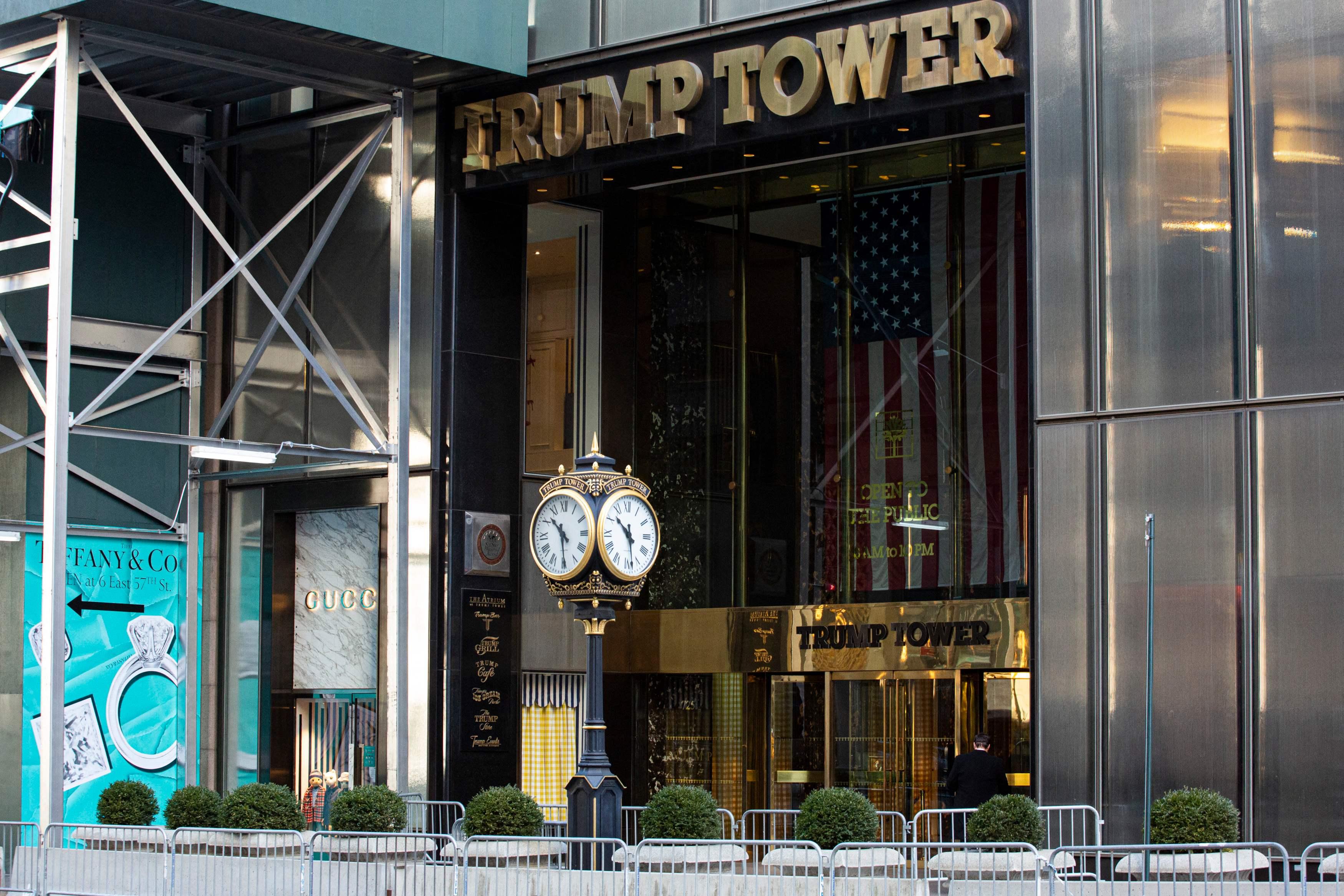 New Yorgis asuv Trump Tower