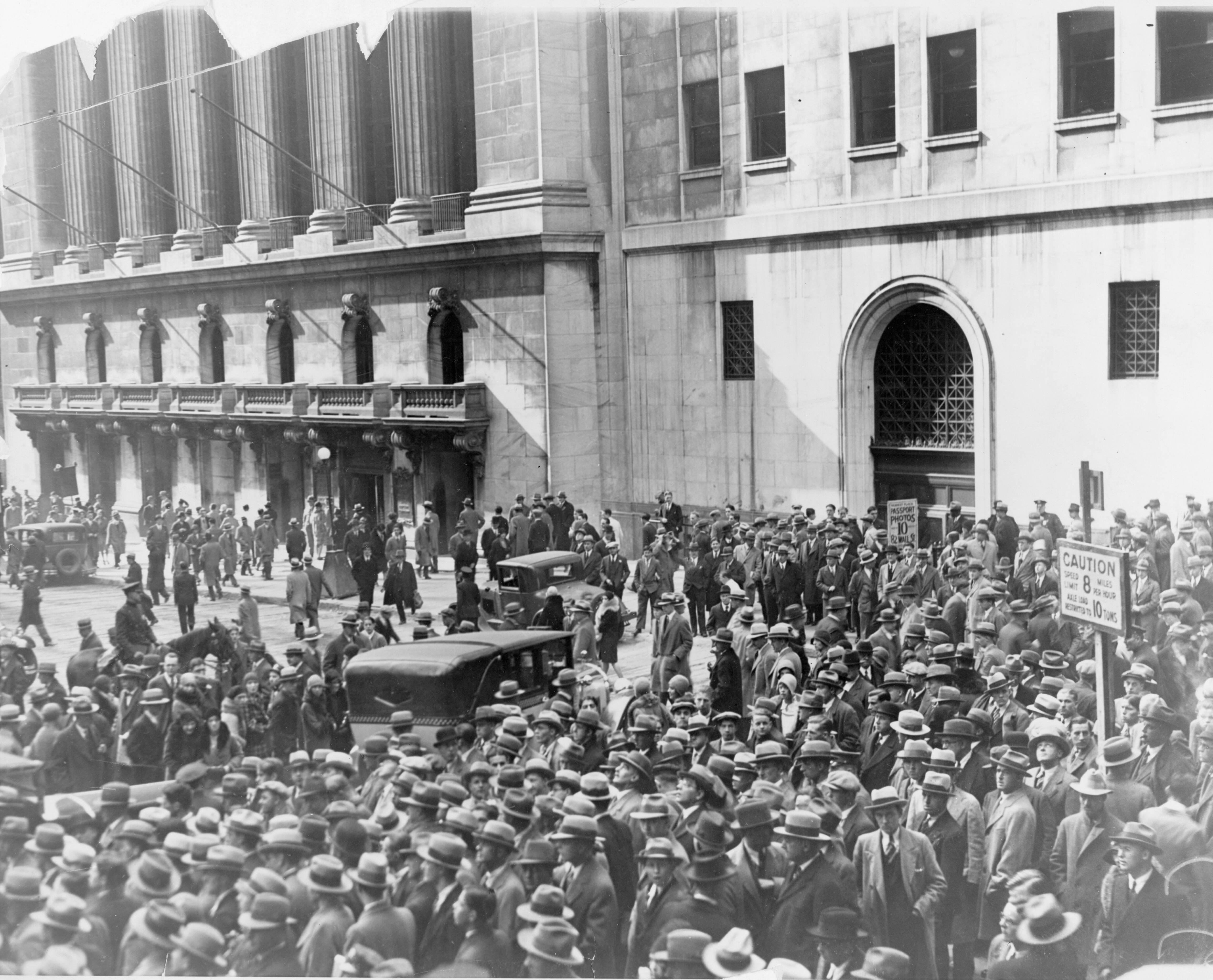 Rahvasumm tuli vaatama 1929. aasta suurt börsikrahhi Foto: Scanpix/imago/Levine-Roberts