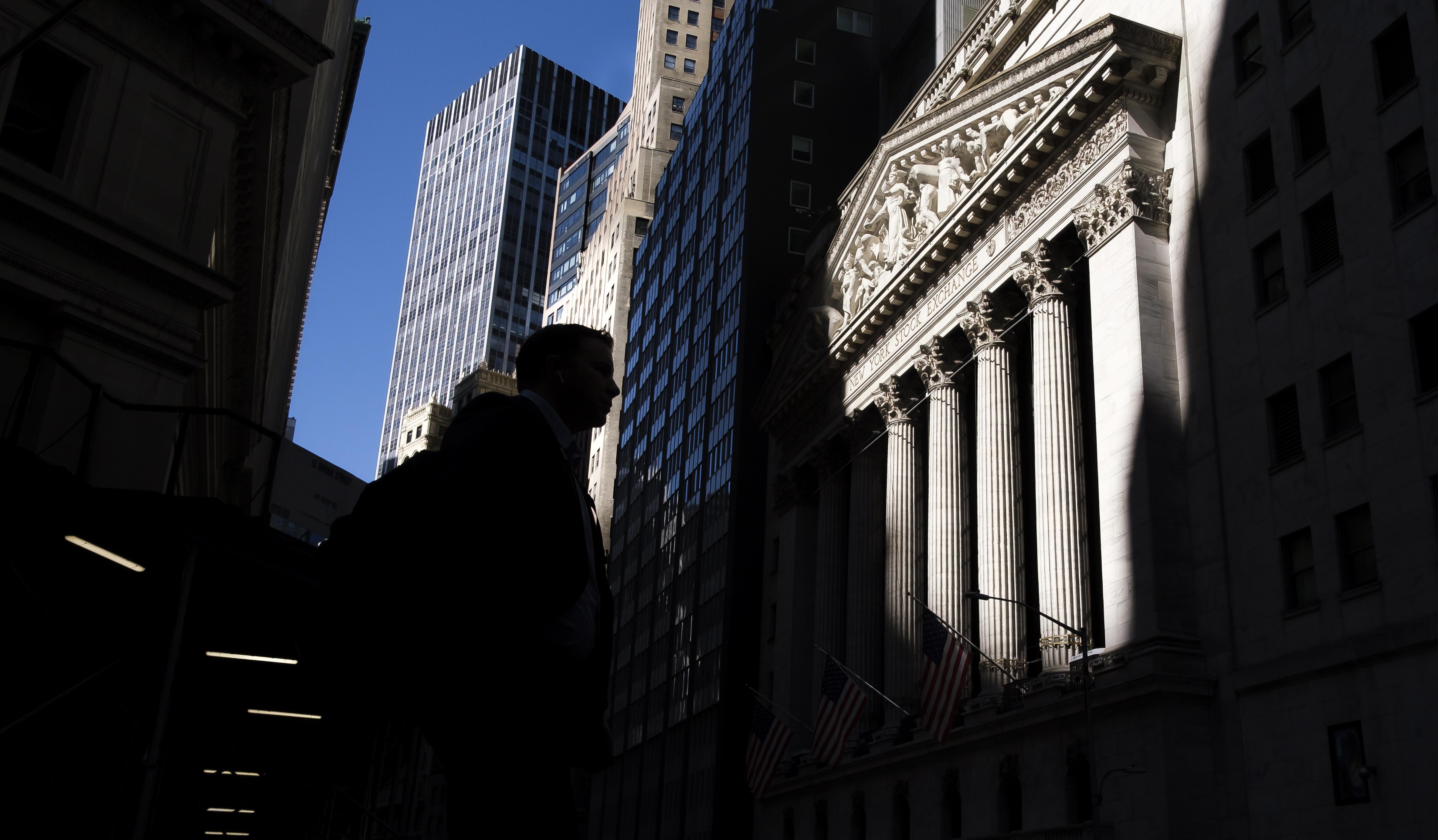 New Yorgi börsi hoone kaasaajal Foto: Scanpix/EPA