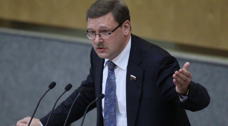 Косачев ЕС чувствует себя как подросток лишившийся поддержки взрослых